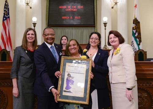 "Brotherhood Crusade CEO Charisse Bremond Weaver Named ""2015 Woman of the Year"" by the 59th Assembly District of the California State Assembly"