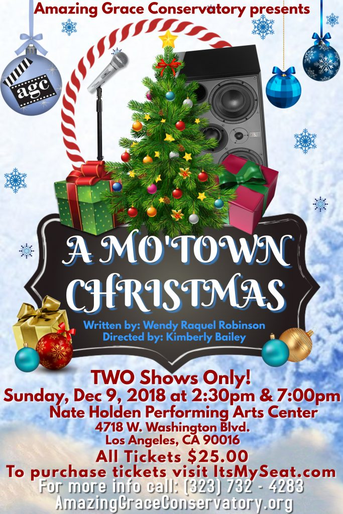 A Mo'Town Christmas (AGC Play Flyer)