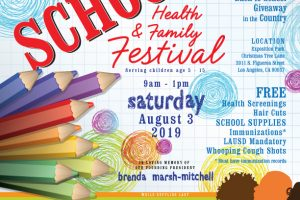 2019 Mother's In Action Back to School Event