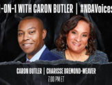 1-ON-1 with Caron Butler | Charisse Bremond-Weaver #NBAVoices
